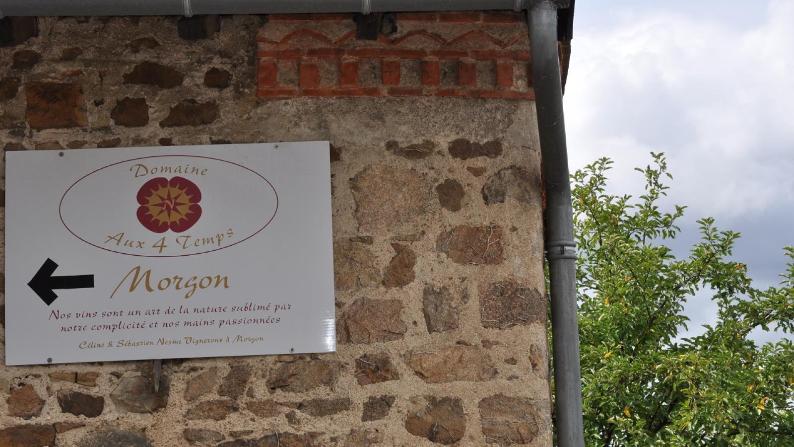 Chambres d'Hôtes 'Domaine aux 4 Temps' à Villié-Morgon (Rhône-Beaujolais) : c'est par Ici !