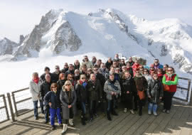 Sommet Aiguille du Midi - Chamonix Seminaires
