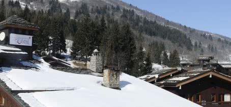Village au sein de Valmorel