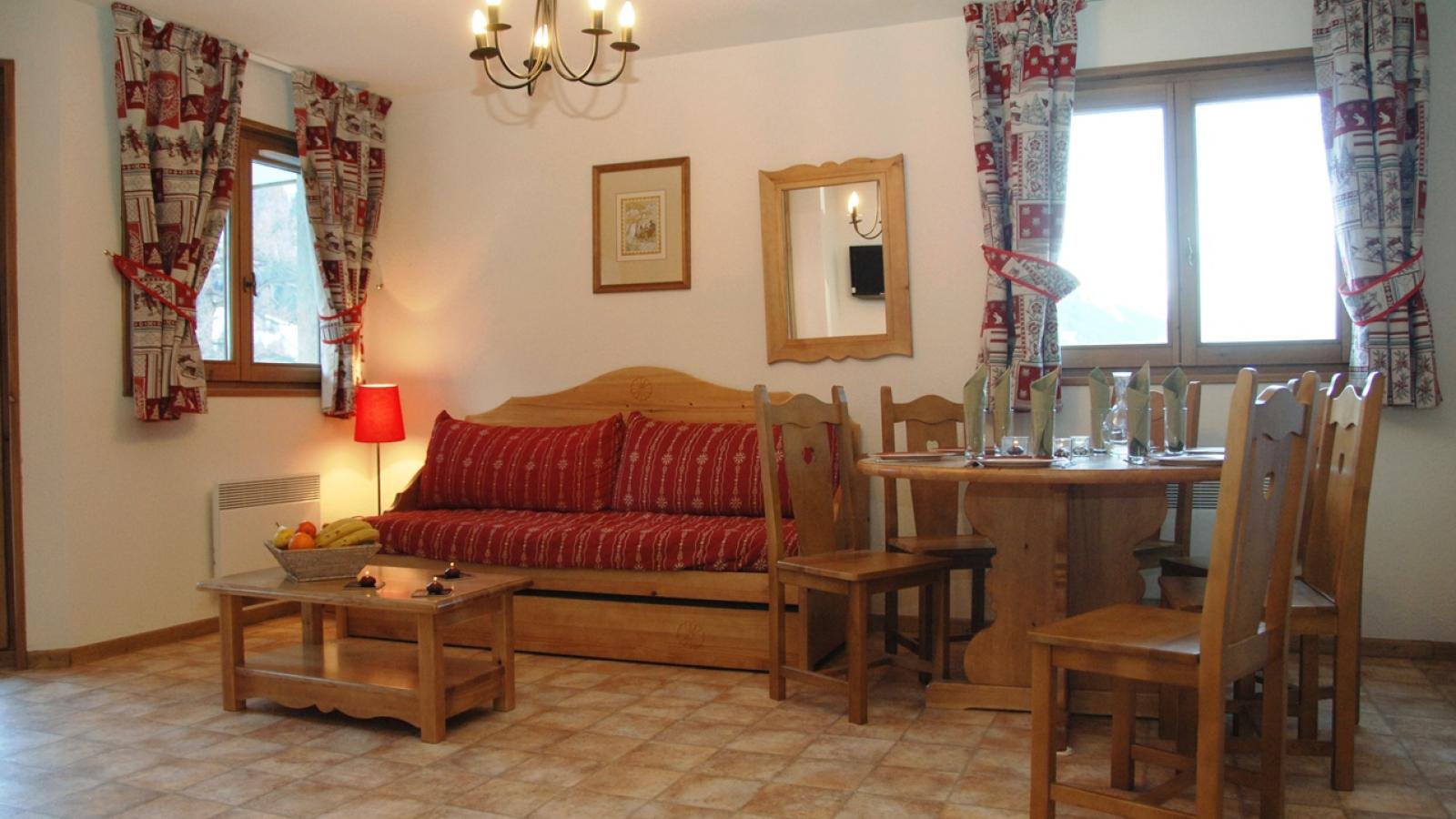 La résidence 'au Bonheur des PIstes' à Val Cenis-Lanslevillard