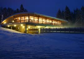 Photo restaurant le Bachat en hiver