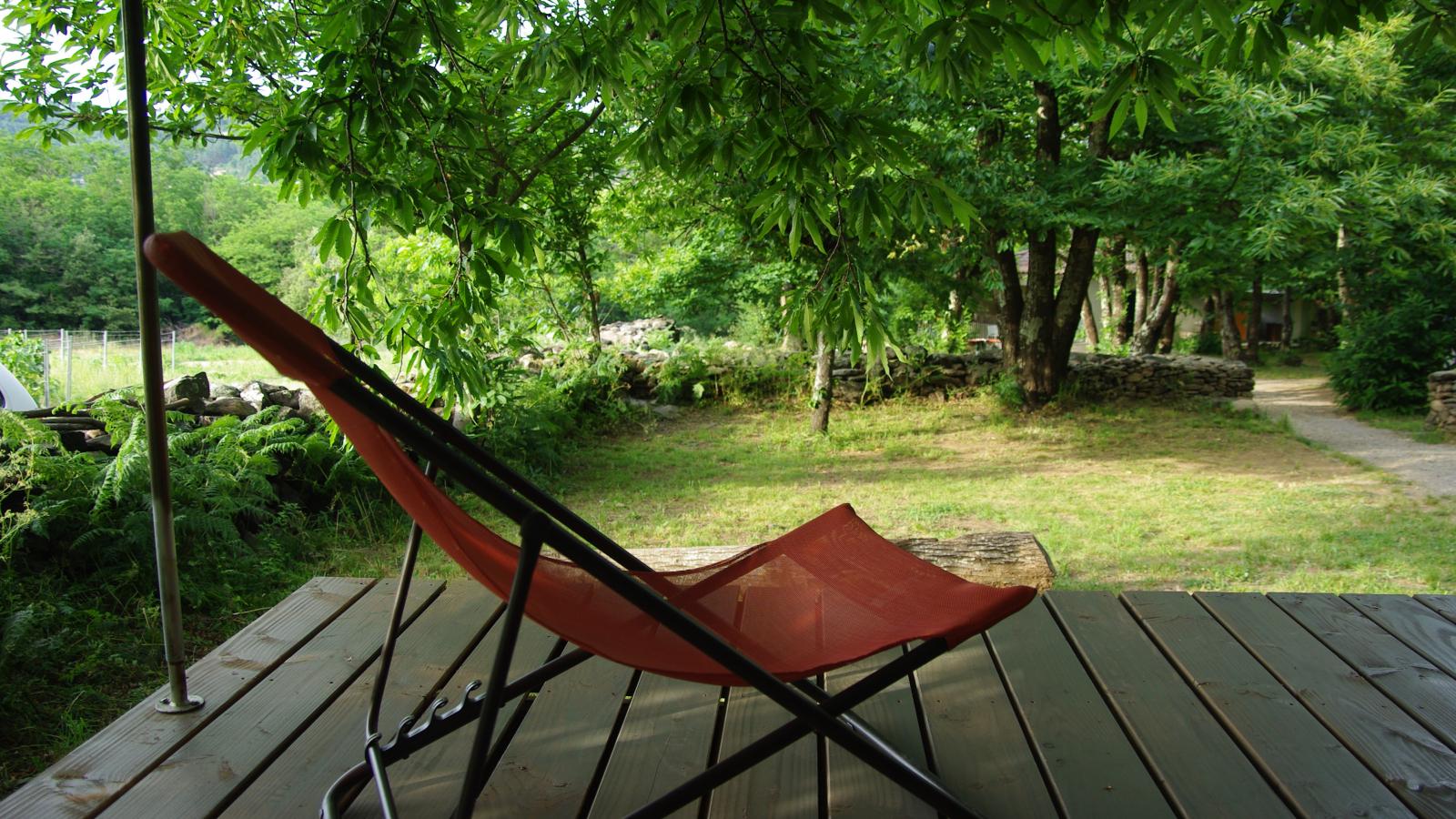 camping ardèche Gravières