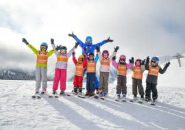 We fill our lessons with fun and engaging games and activities to encourage a positive attitude to all-things-ski.