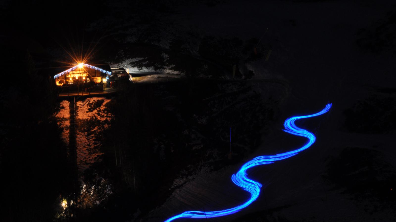Skis lumineux Starski