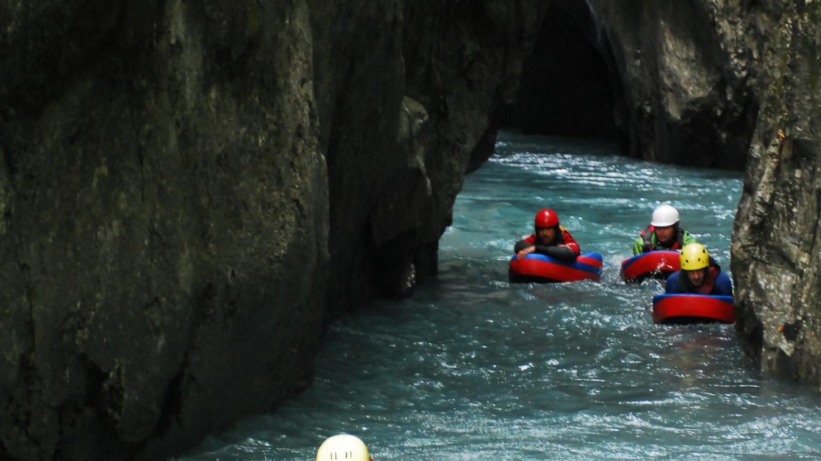 Hydrospeed sortie des Gorges des Tines