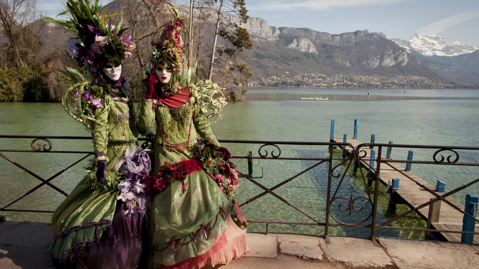 Ambiance événement : le Carnaval vénitien d'Annecy