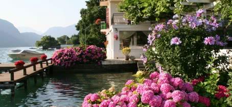 Hôtel port et lac