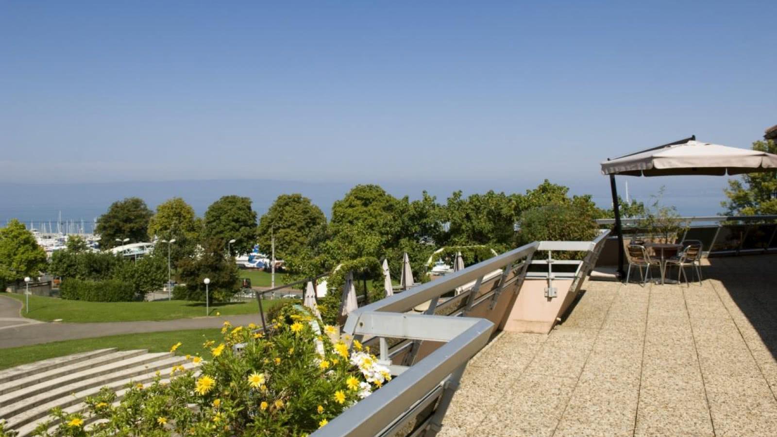 terrasse VVF Evian