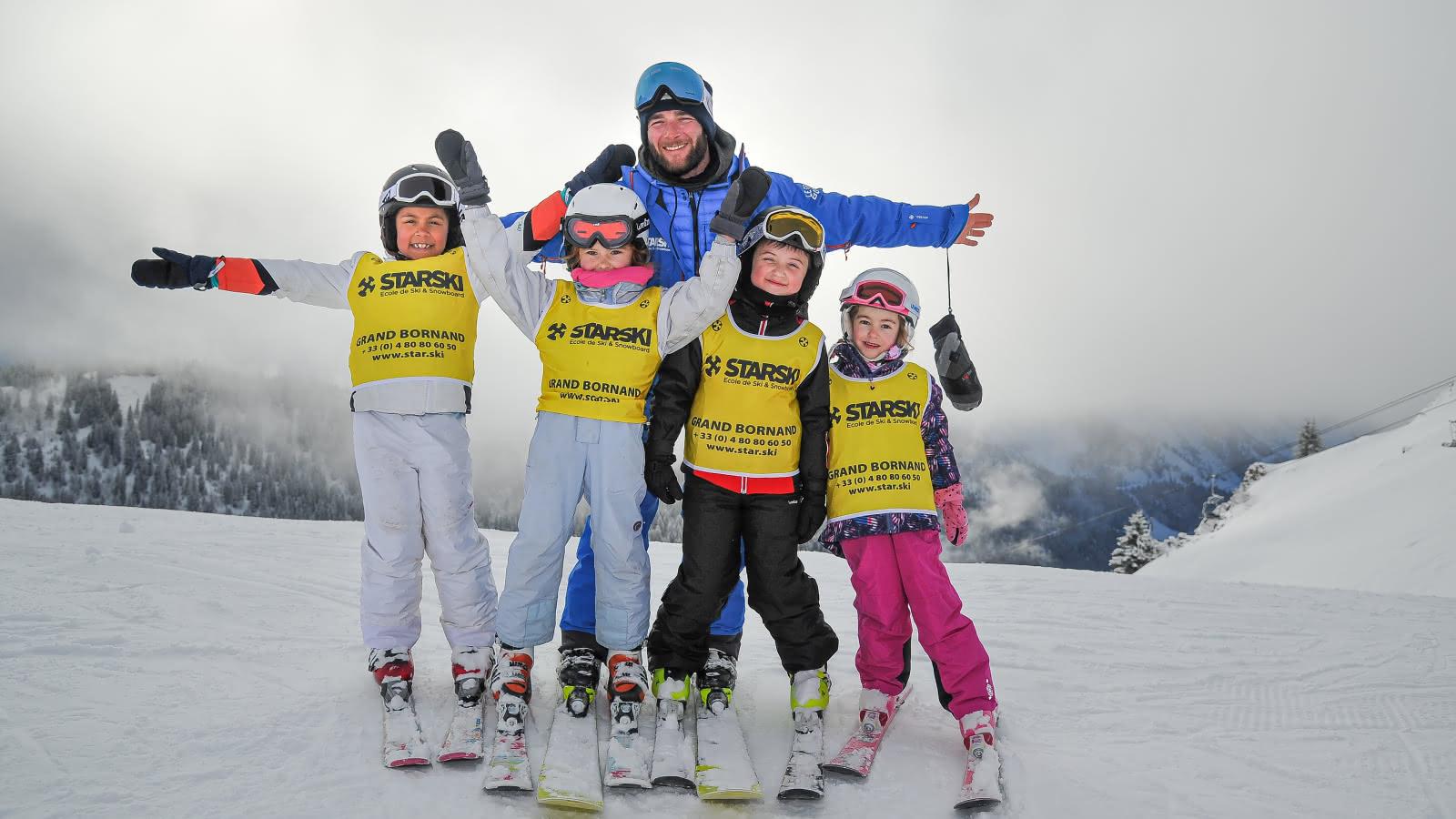 Cours de ski en petit groupe avec Starski