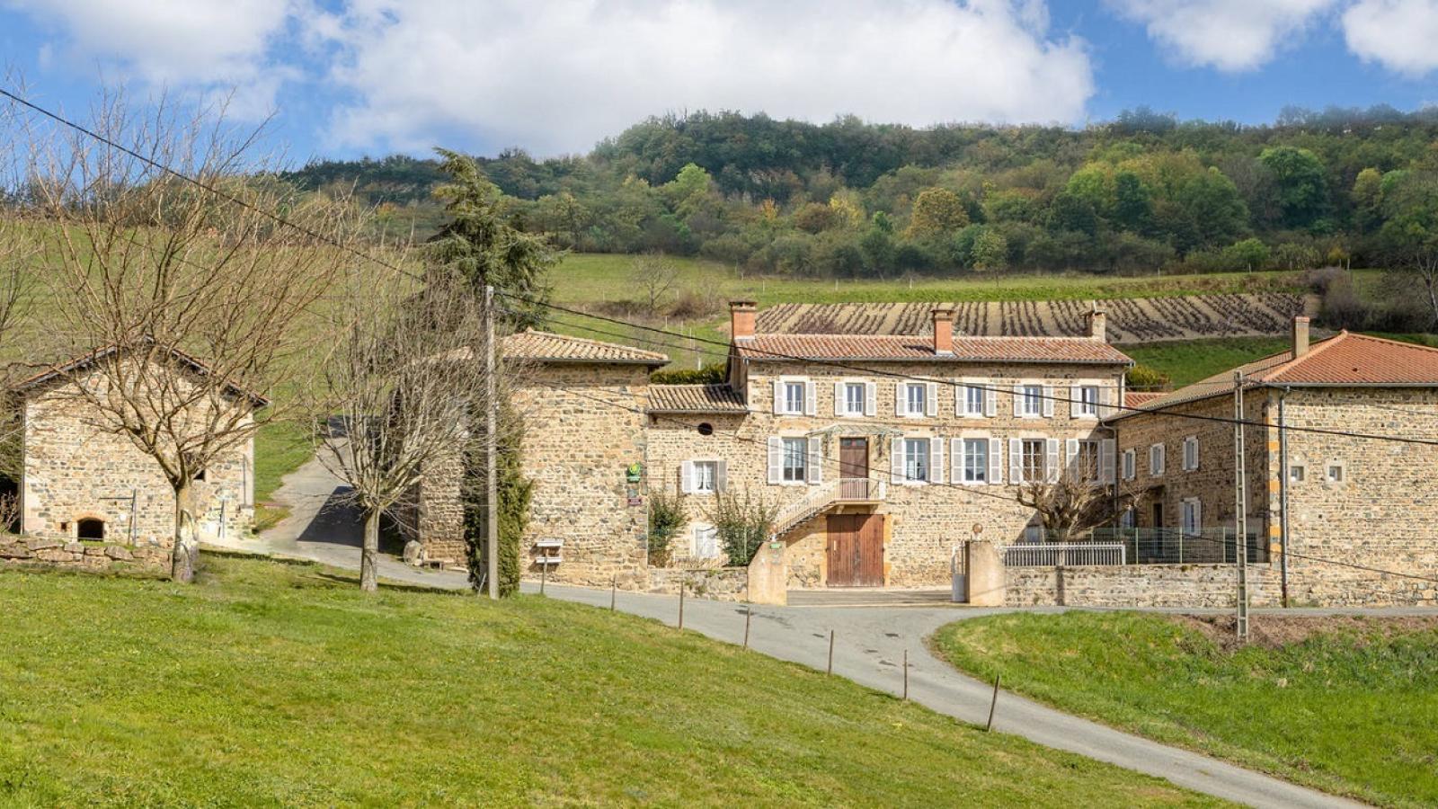 Chambres d'Hôtes 'Domaine de Romarand' à Quincié-en-Beaujolais, dans le Rhône : Le Domaine de Romarand.