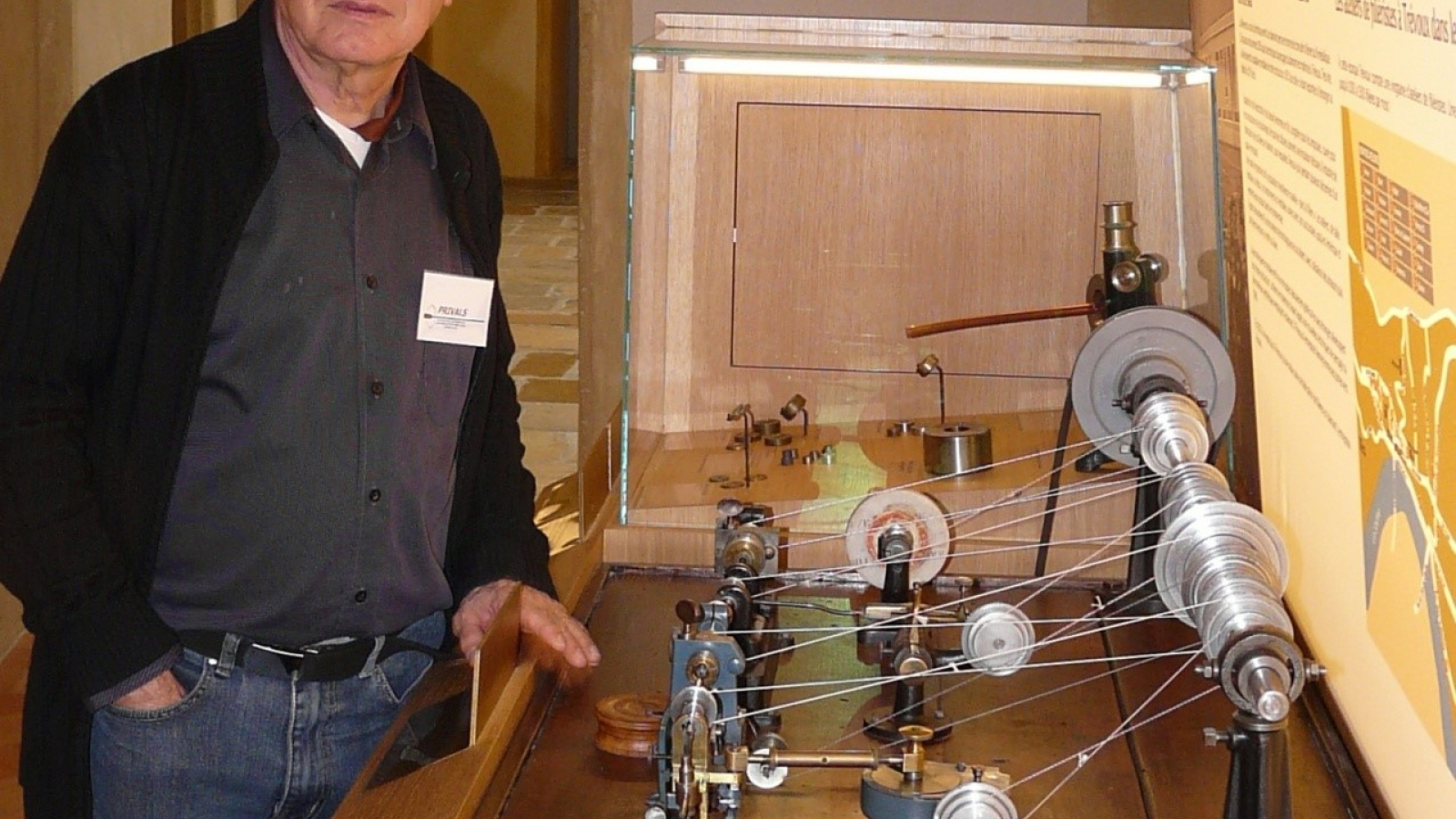 Présentation des machines au Musée de Trévoux et ses trésors