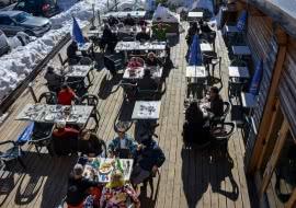 Photo restaurant la Bérangère - Vue Terrasse