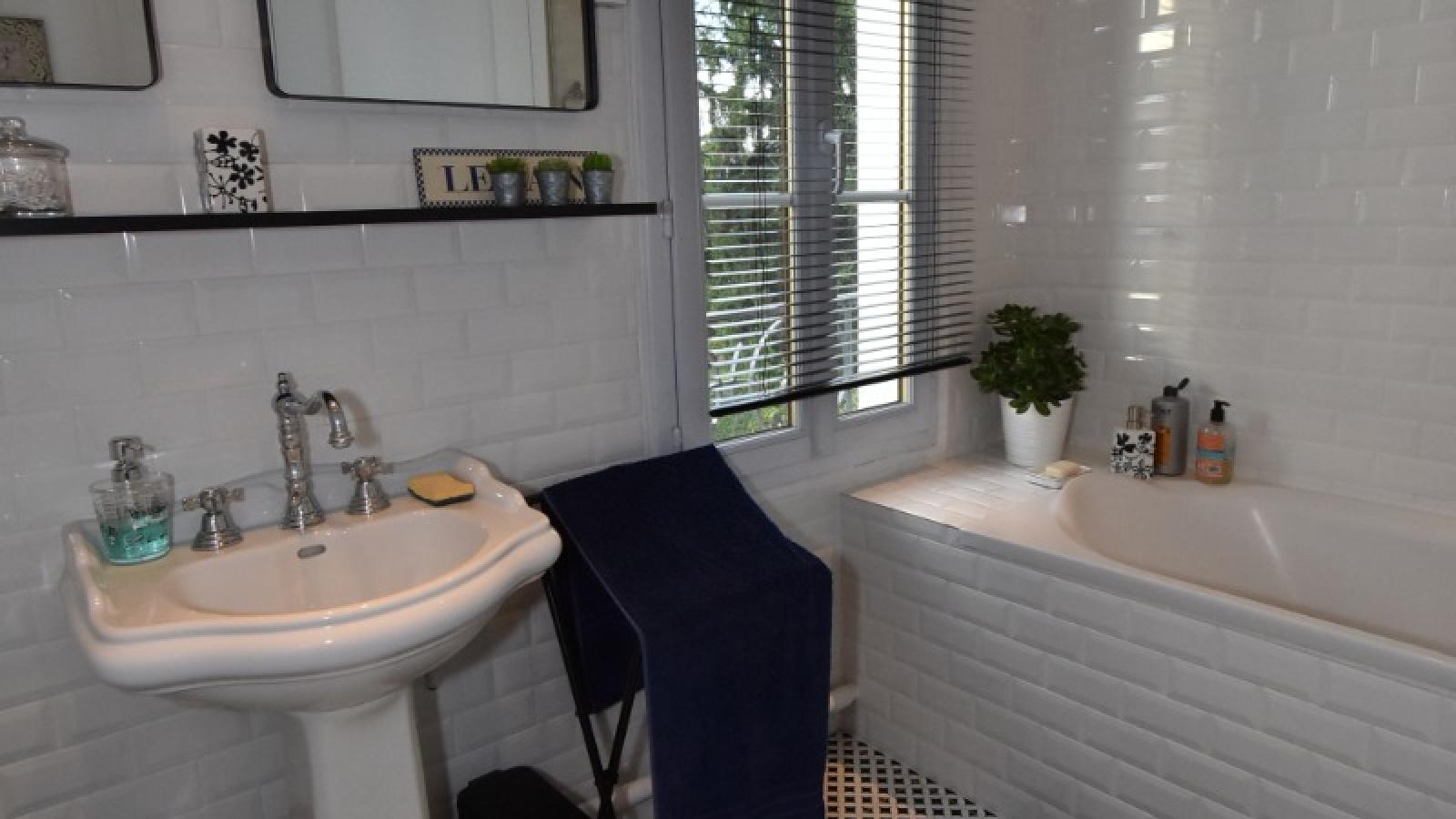 la salle de bains privative