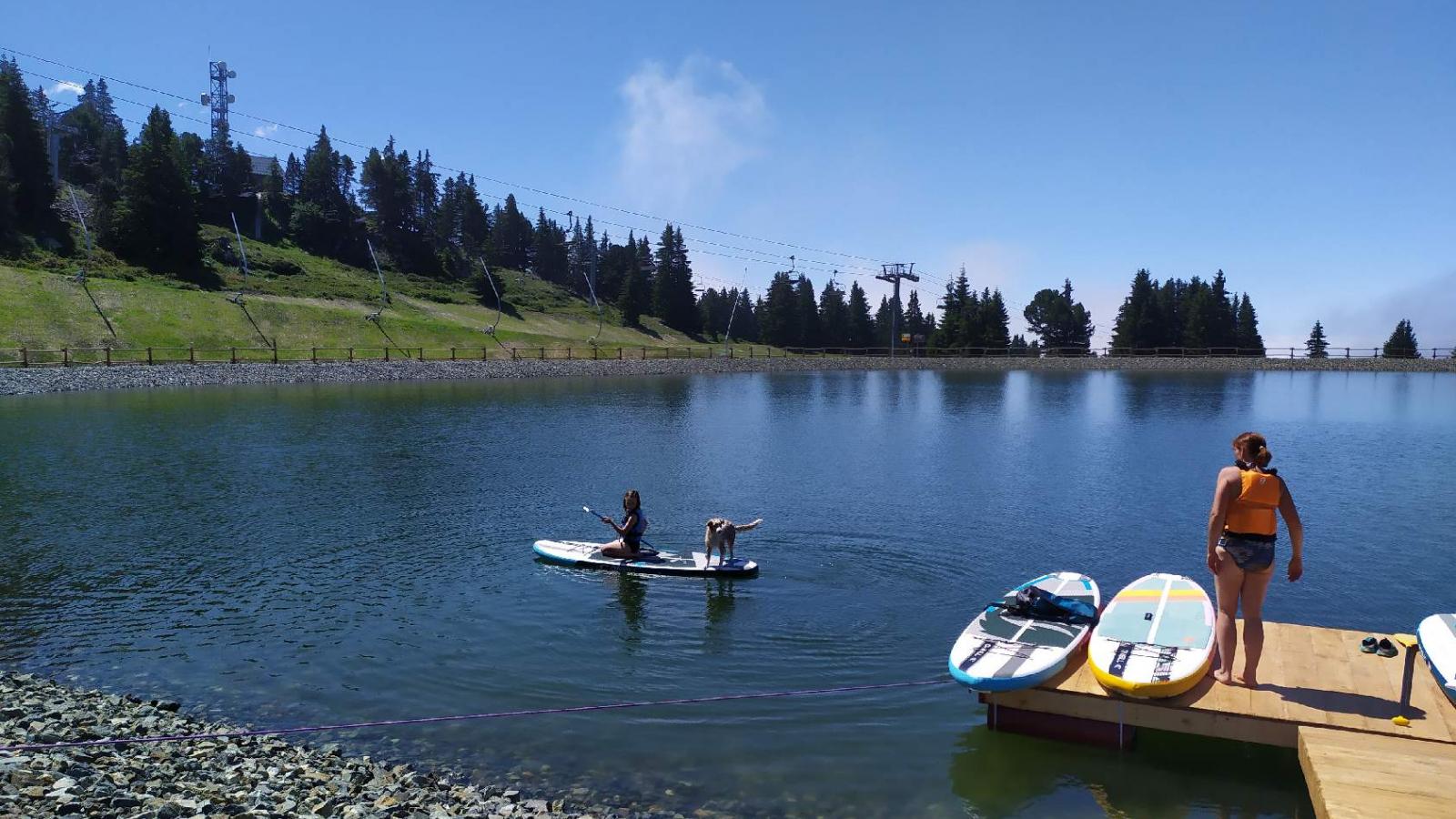 Photo de l'activité Stand Up Paddle au Lac de Roche