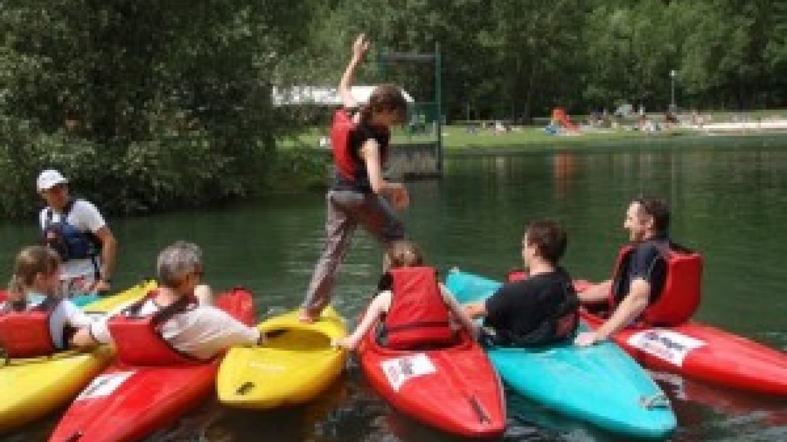 Kayak and paddleboard rental - La Plagne Valley