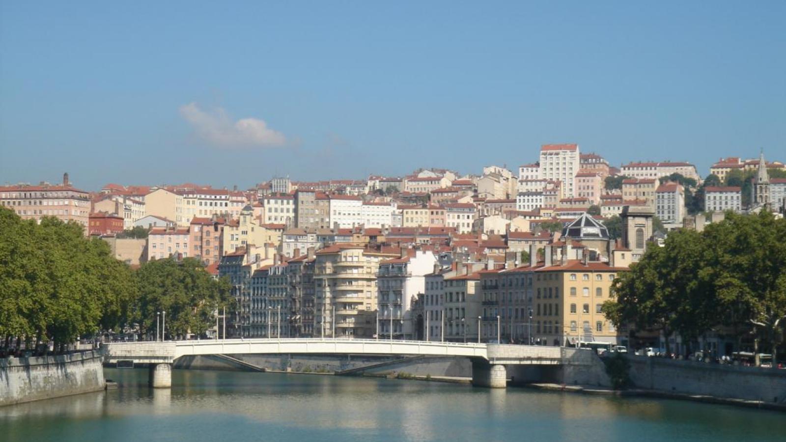 Lyon Panorama Saône