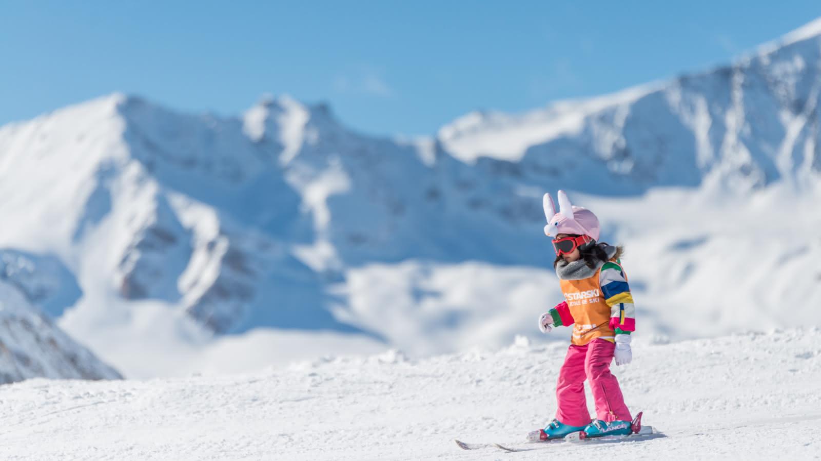 Introduction au ski de 30mins pour les petits.