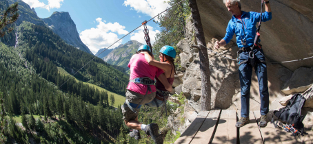 Parcours aventure et tyroliennes