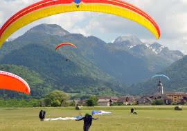 Aire d'atterrisage Doussard Lac Annecy