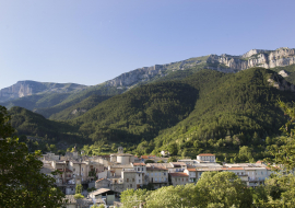 Châtillon-en-Diois - village