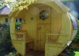 Chambre Barrel - Camping La Grappe Fleurie