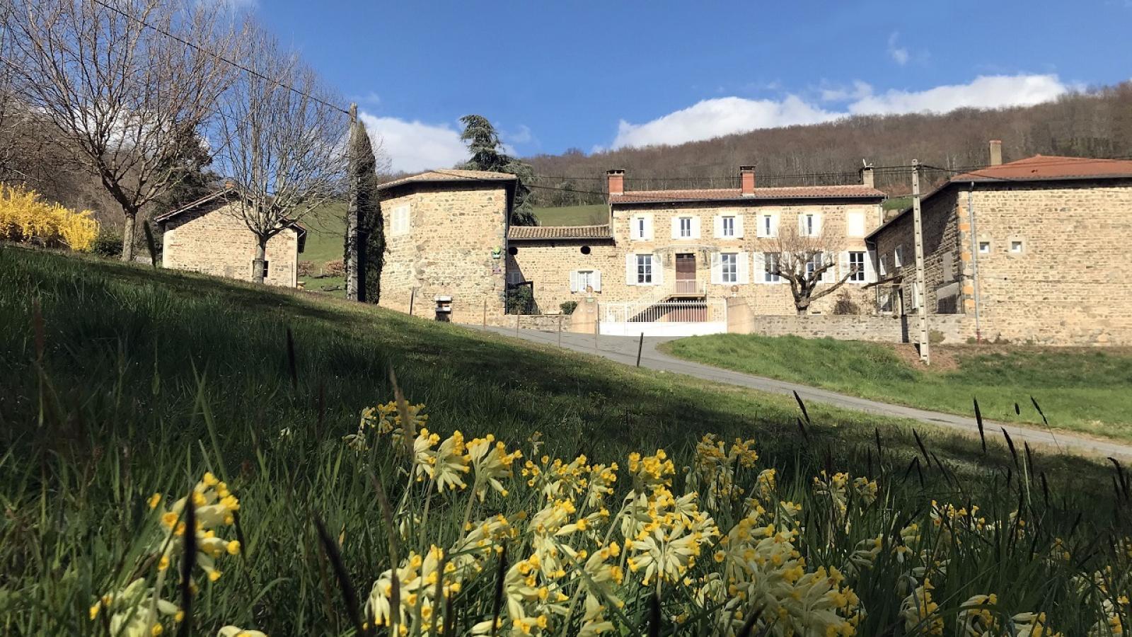 Chambres d'Hôtes 'Domaine de Romarand' à Quincié-en-Beaujolais, dans le Rhône : la Maison.