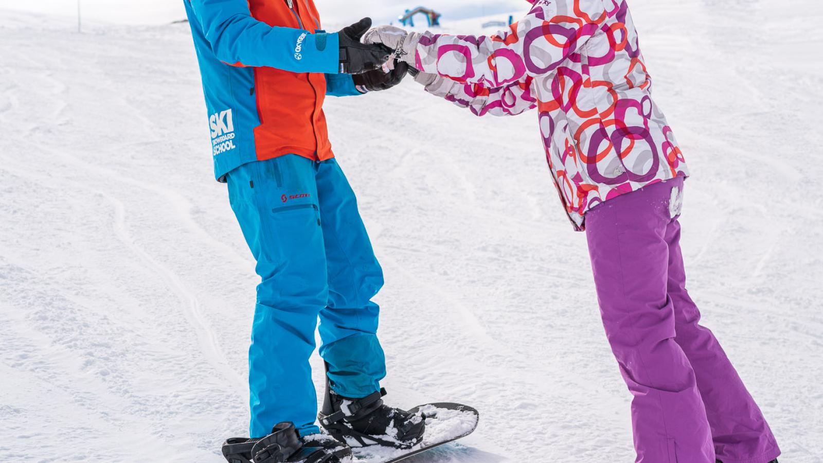 Cours privé de snowboard