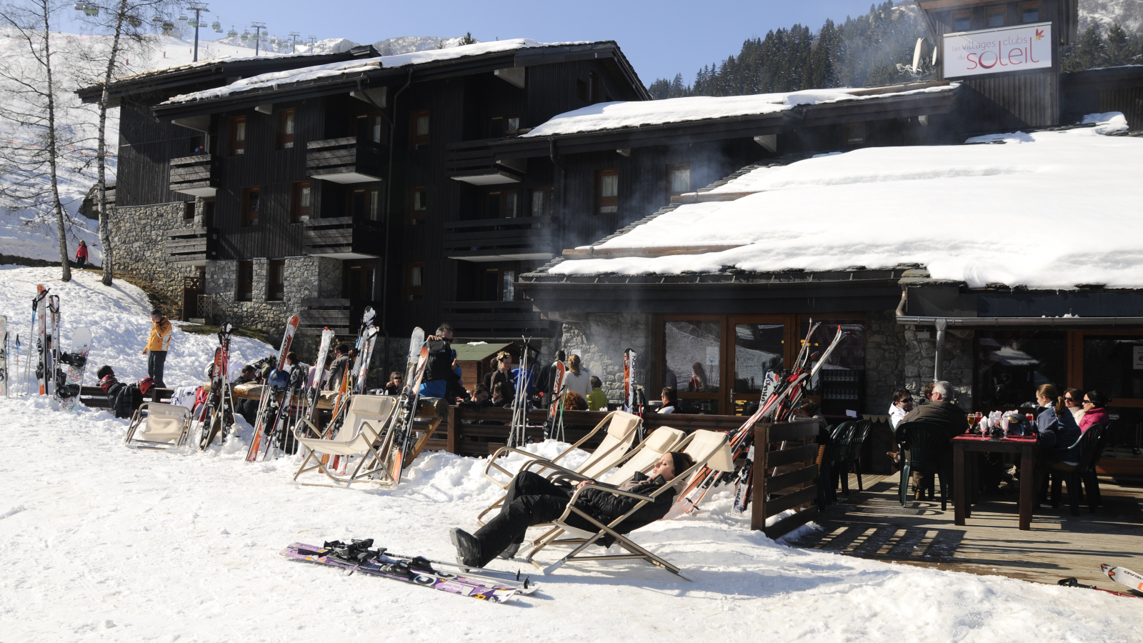 Village cosy au pied des pistes