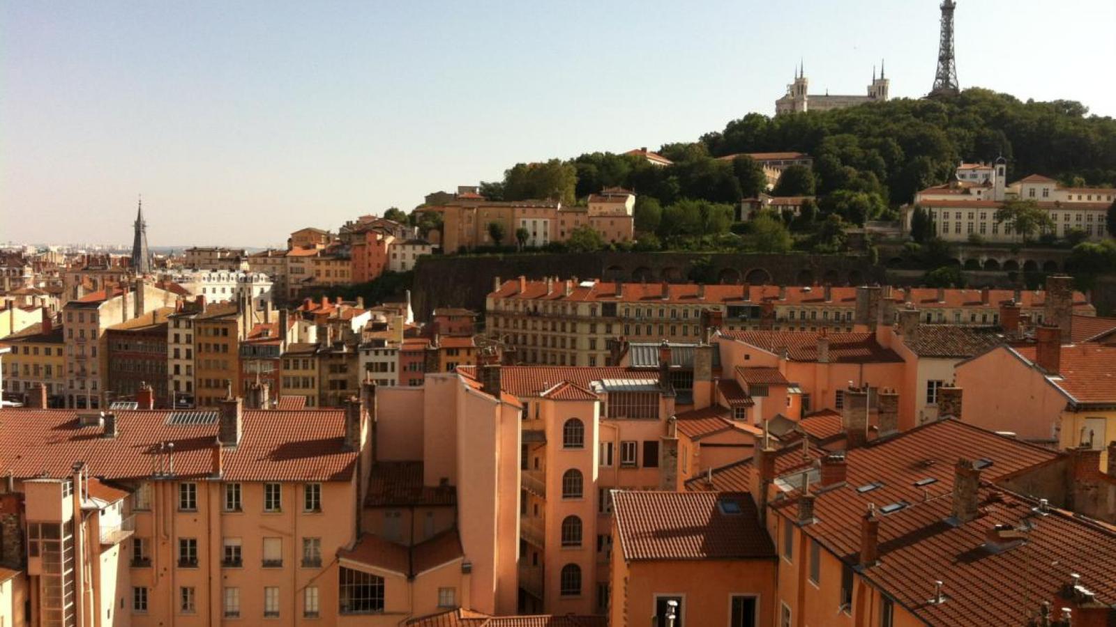 Vieux Lyon panorama