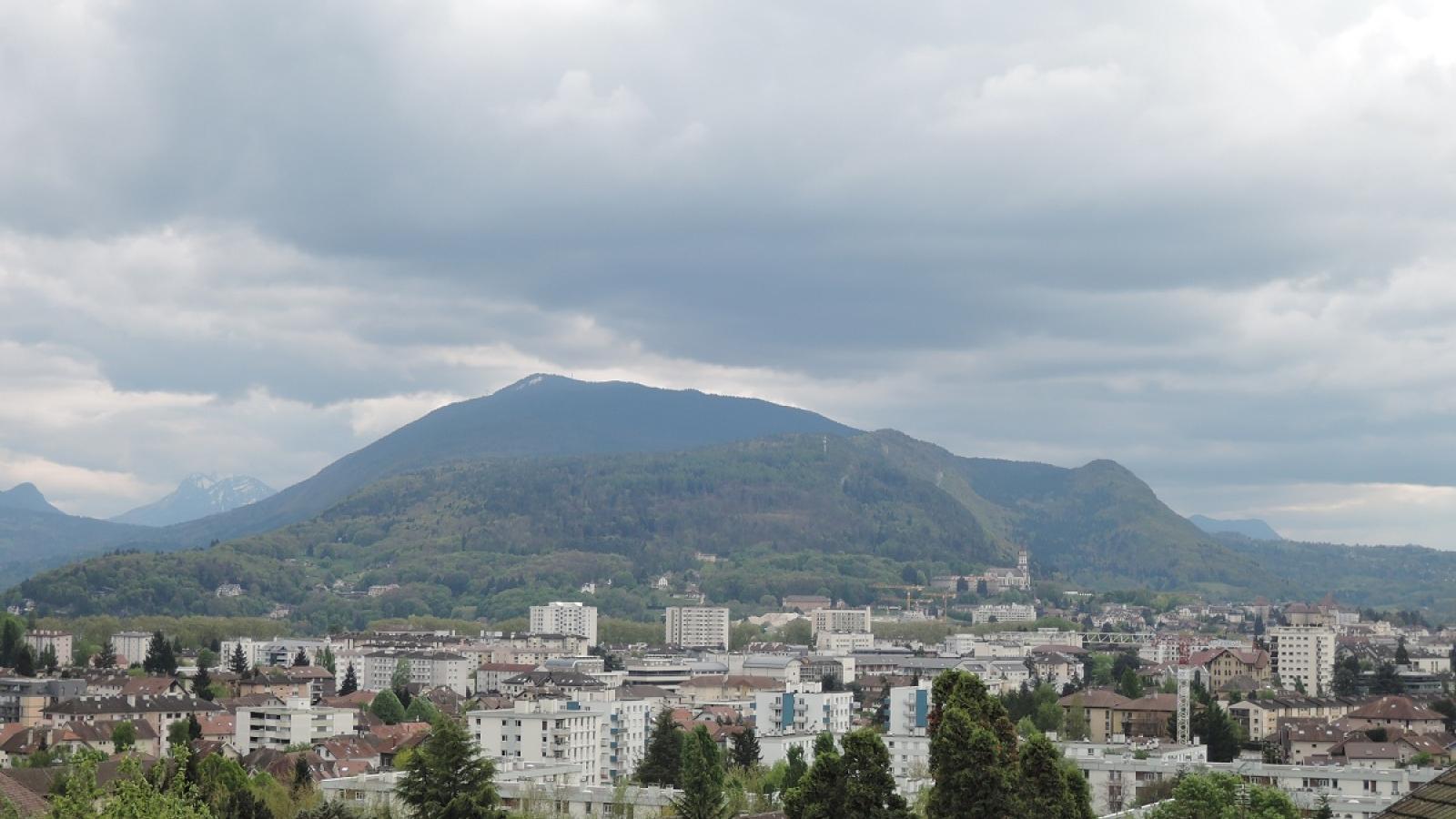 Paysage depuis les coteaux d'Annecy-le-Vieux