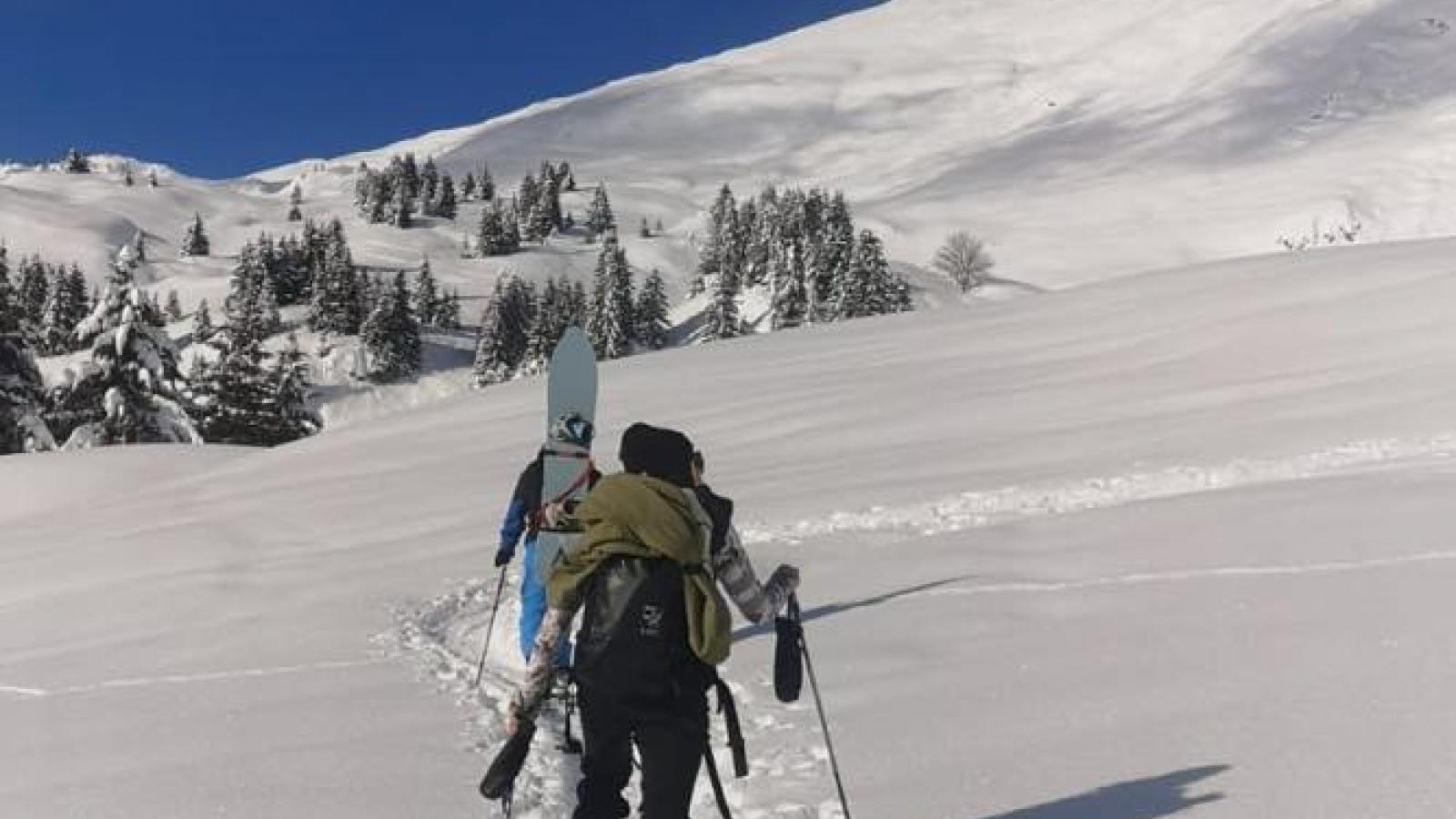 ski rando journée 2