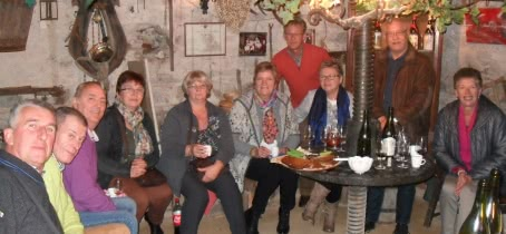 Apéritif vigneron au Plateau de Grille-Midi à Chiroubles