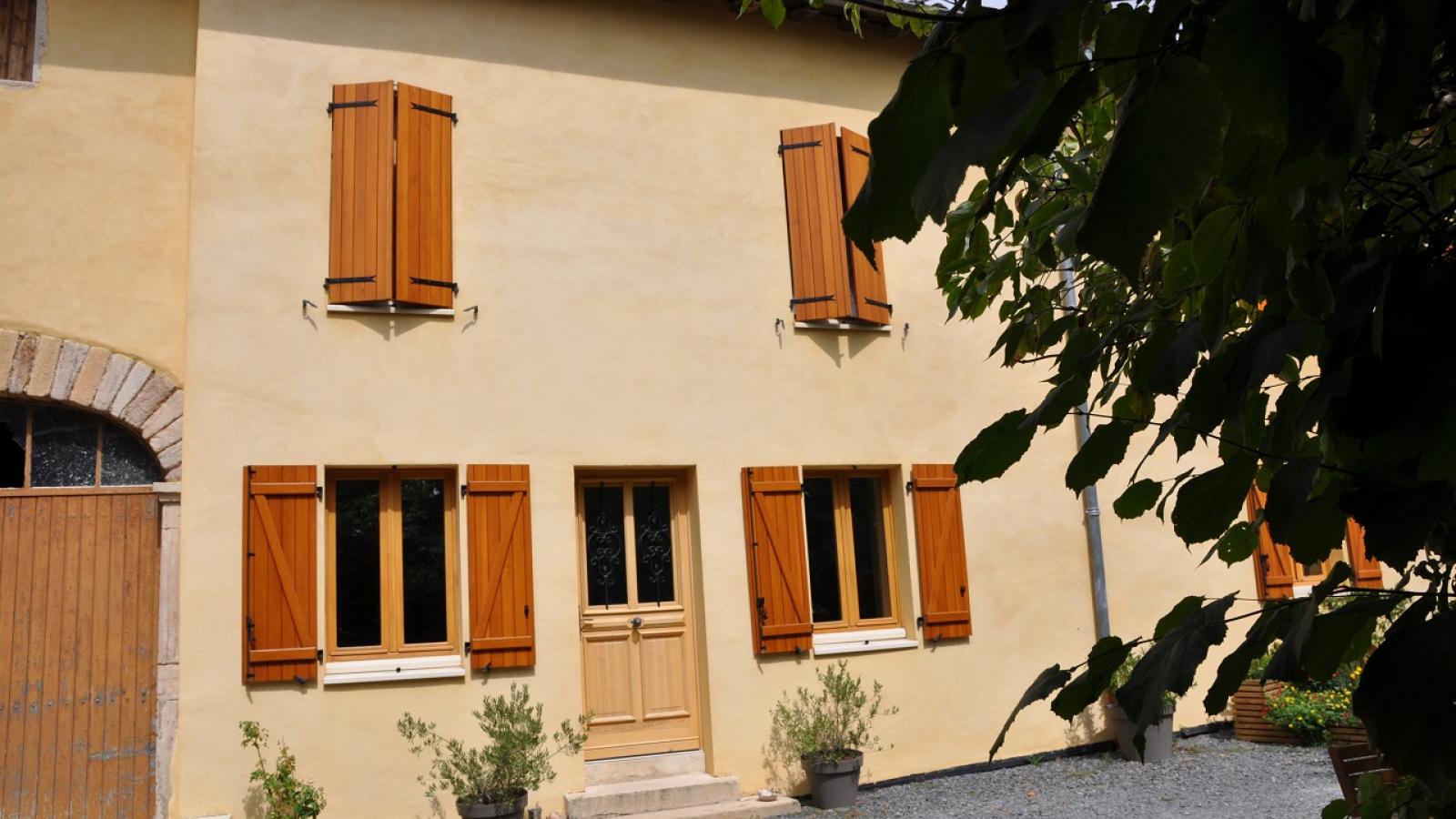 Chambres d'Hôtes 'Domaine aux 4 Temps' à Villié-Morgon (Rhône-Beaujolais) : la maison.