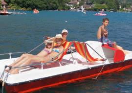 pedalo lac d'Annecy