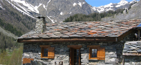 L'Estiva, refuge, restaurant dans le vallon de Polset au-dessus de Modane